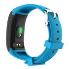 Maikou  X16 Heart Rate Monitoring Smart Watch Bracelet - Blue