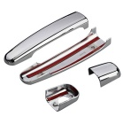 QooK Chrome Door Handle Cover Cap Trim for Peugeot 307 Citroen C2 C3
