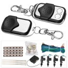 2/4 Door Remote Keyless Entry Central Lock Locking Kit