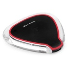 Mindzo W25 triangle Wireless Charger - Transparent + Red + Black
