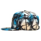 Sea Coco Tree 3D Stereoscopic Digital Printing Baseball Cap