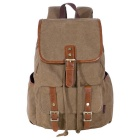 Canvas Cotton Backpack Casual Daypack Bag for School & Travel