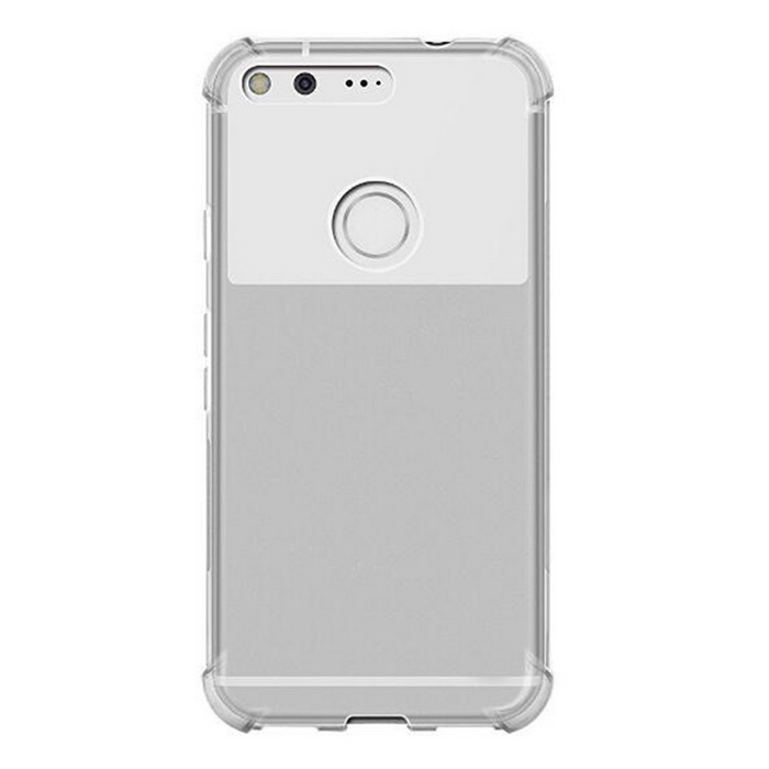 Thin Soft Back TPU Shockproof Cases Cover for Google Pixel XL 5.5'
