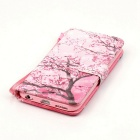 BLCR Cherry Trees 3D Pattern Protective Case for IPHONE 6 / 6S - Pink
