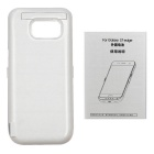 6500mAh Emergency Battery Back Case for Samsung S7 Edge - White