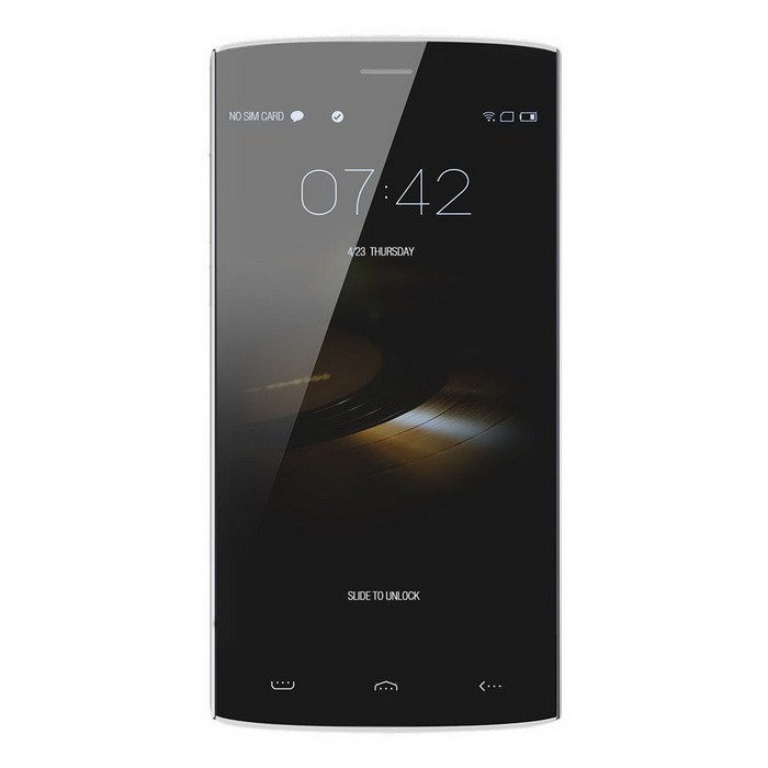 "HOMTOM HT7 PRO 5,5"" IPS quad-core android 5,1 4G smartphone - silver"