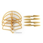 Quadcopter Spare Parts CW/CCW Propellers Protection Covers - Gold