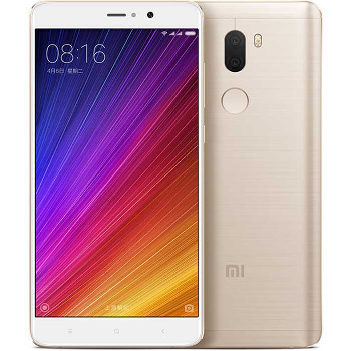 "Xiaomi 5S plus 5,7"" quad-core älypuhelin w / 4GB ram, 64GB ROM -Golden"