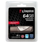 Kingston Datatraveler arbetsyta DTWS / 64GB 64GB USB 3.0 flash-enhet