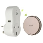 Wireless Remote Control Electrical Power Outlet Switch Socket UK Plug