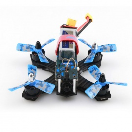 JJRC JJPRO P130 Battler 130mm RC Racing Quadcopter - Blue Camouflage