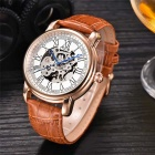 MCE High-grade Watches Fully Automatic Mechanical Watch - Brown +White