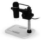 KELIMA Handheld Portable USB Digital Microscope - White + Black