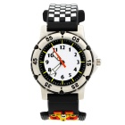 3D Environmental Protection Silicone F1 Racing Children's Watches
