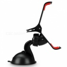 ZIQIAO Universal Car 360 Degree Rotation Mount Holder - Black