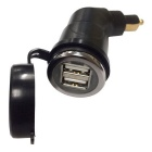 5V 3.3A USB Dual USB Motorcycle Car Charger for BMW