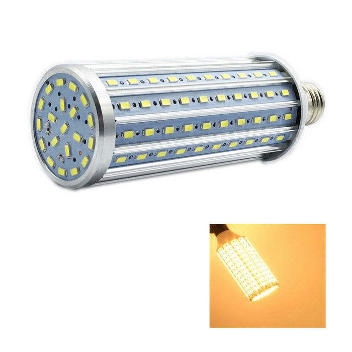 WLXY E27 40W 1000lm 140-SMD 5730 Warm White LED Corn Light