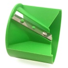 ZIQIAO Kitchen Stainless Steel Vegetable / Fruit  Rolling Cutter-Green