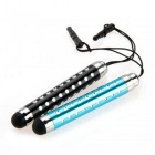 SZKINSTON 2-in-1 Retractable Touch Pen Anti-dust Plug for IPHONE +More