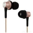 OVLENG iP-320 Universal 3.5mm Plug Wired In-Ear Earphones - Gold