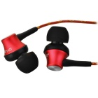 OVLENG iP-320 Universal 3.5mm Plug Wired In-Ear Earphones - Red