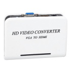 BSTUO mini HD 1080P Audio VGA zu HDMI HD HDTV-Video-Konverter mit Audio