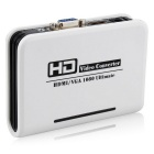 BSTUO HDMI TO VGA Converter Box Hdmi to Vga Audio Adapter w/ RCA 3.5mm