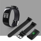 Maikou X16 Heart Rate Monitoring Smart Watch Bracelet - Black
