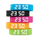 DMDG Smart Sport 3D Pedometer Wristband Watch Bracelet - Black