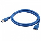 USB 3.0 SuperSpeed A Male to Micro USB 3.0 Male Data Cable (150CM-Length)