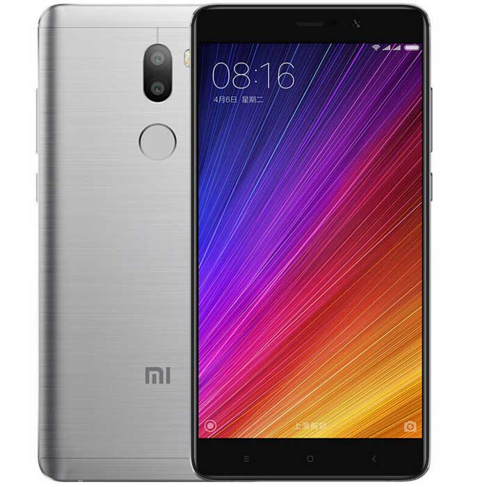 Xiaomi 5S Plus 5.7 4G Smartphone w/ 6GB RAM, 128GB ROM - GrayAndroid Phones<br>Form ColorGreyRAM6GBROM128GBBrandXiaomiModelXiaomi 5S PlusQuantity1 DX.PCM.Model.AttributeModel.UnitMaterialMetalShade Of ColorGrayTypeBrand NewPower AdapterUS PlugsHousing Case MaterialMetalTime of Release2016-09Network Type2G,3G,4GBand DetailsFDD-LTE ( B1B3B5B7)  TD-LTE ( B38B39B40B41) TD-SCDMA ( B34B39) WCDMA ( B1B2B5B8) GSM ( B2B3B5B8) CDMA1X / EVDO ( BC0)Data TransferGPRSNetwork ConversationOne-Party Conversation OnlyWLAN Wi-Fi 802.11 a,b,g,n,ac,Dual band Wi-Fi (2.4GHz / 5GHz)SIM Card TypeNano SIMSIM Card Quantity2Network StandbyDual Network StandbyGPSBDSNFCYesInfrared PortYesBluetooth VersionBluetooth V4.2,Others,Bluetooth HIDOperating SystemAndroid 6.0CPU ProcessorQualcomm Snapdragon 821,2.35GHzCPU Core QuantityQuad-CoreGPUQualcomm Adreno 530,653MHzLanguageEnglish, Simplified Chinese, Traditional Chinese, Dutch, Indonesian, Malay, Persian, Danish, German, Estonian, Spanish, French, Zulu, Italian, Swahili, Latvian, Lithuanian, Hungarian, Norwegian, Polish, Portuguese, Romansh, Slovak, Vietnamese, Turkish, Russian, Arabic, Korean, JapaneseAvailable Memory100GBMemory CardNoMax. Expansion SupportedNoSize Range5.5 inches &amp; OverTouch Screen TypeCapacitive ScreenScreen Resolution1920*1080Multitouch10Screen Size ( inches)5.7Camera Pixel13.0MPFront Camera Pixels4 DX.PCM.Model.AttributeModel.UnitVideo Recording Resolution720p / 1080pFlashYesAuto FocusYesTouch FocusYesOther Camera FunctionsThe color temperature of the flash<br>Support PDAF phase focus<br>Low light image enhancement technology<br>HDR high dynamic range adjustment technology<br>monochrome camera<br>RAW format<br>Facial recognition function<br>Photo with real-time filter<br>Group photo optimizationOther Camera Features4 million pixel front camera<br>2 um big pixel, f / 2.0 aperture, 80° degree wide angleTalk Time6 DX.PCM.Model.AttributeModel.UnitStandby Time60 DX.PCM.Model.AttributeModel.UnitBattery Capacity3800 DX.PCM.Model