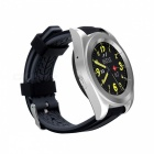 G6 Bluetooth Heart Rate Monitor Stainless Steel Smart Watch - Silver
