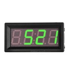"2"" 3-in-1 DC 5-60V LED Car Thermometer Voltmeter Clock Module w/ Two Temperature Sensors"