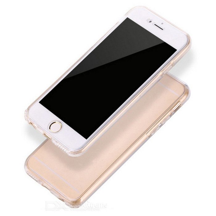 Clear Protective Full Body TPU Case for IPHONE 7 - Transparent