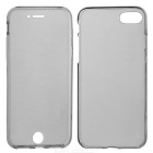 Clear Protective Full Body Case for IPHONE 7 - Translucent Grey