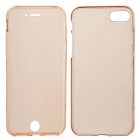 Clear Protective Full Body Case for IPHONE 7 - Translucent Rose Gold
