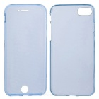 Clear Protective Full Body Case for IPHONE 7 - Translucent Blue