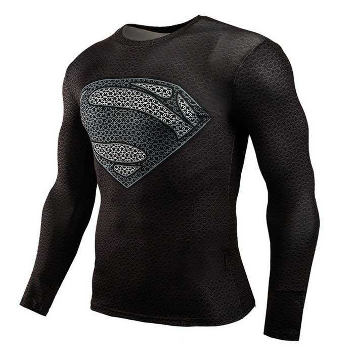 3D Printing Fast-Drying Long-Sleeved Tight-Fitting Male T-shirt ...