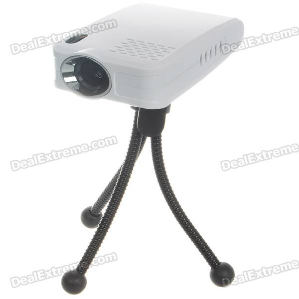 Portable Home/Office Mini USB 2.0 LCoS Projector (16:9)