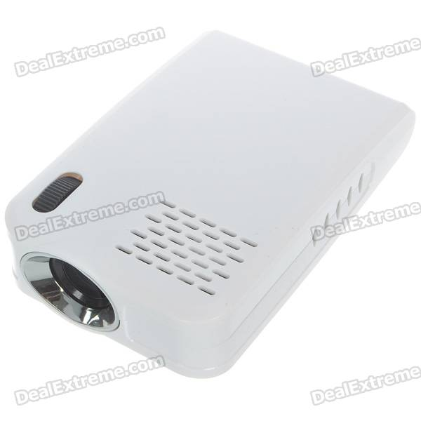 Portable home office mini usb 2 0 lcos projector 16 9 for Mini usb projector review