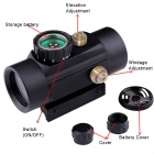SF-5639 1x40RD Holographic Red Dot Sight Rifle Scope for 11mm/20mm