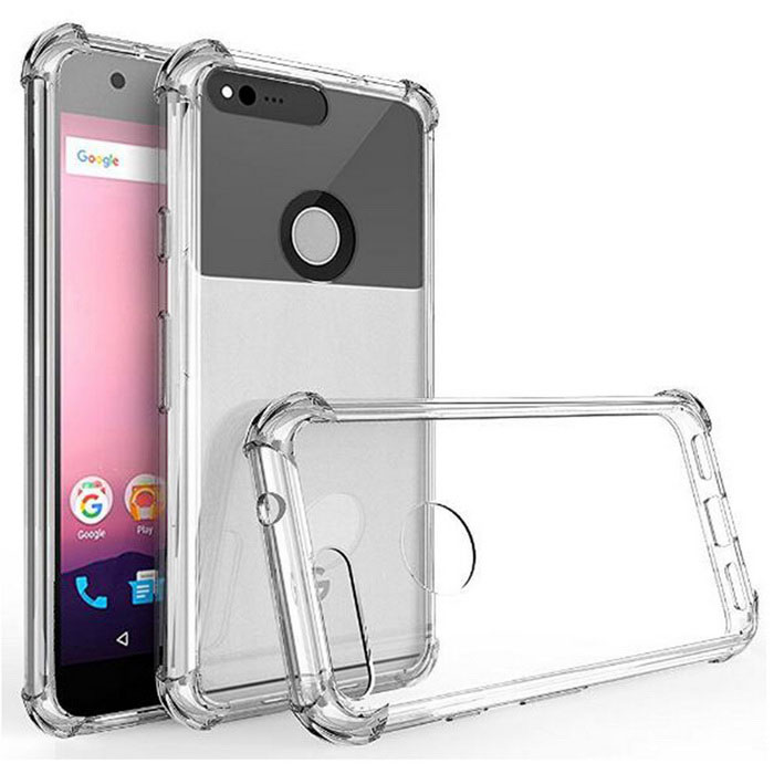Thin Soft Back TPU Shockproof Cases Cover for Google Pixel 5'