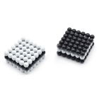 216 DIY Cube Puzzle Toy for Activating Brain - Black + White