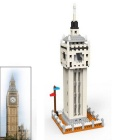 3D Mini DIY Diamond Particles British Big Ben Assembled Toy Bricks
