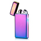 Maikou USB Charging Electronic Double Cross Arc Fire Lighter - Purple