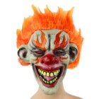 Orange Hair Clown Rubber Mask for Cosplay / Halloween Costume Party