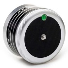360° Metal Electric Panorama Ball Head w/ Remote Control - Silver
