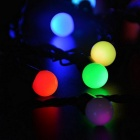 100-LED 35ft RGB Fairy Globe String Light w/ Controller 110V-Colorful