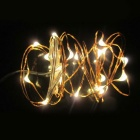 KWB 5050 SMD Strips Warm White 500-LED String Lights - Golden (5*10M)
