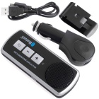 QooK BY35 Bluetooth V3.0 + EDR Handsfree Speaker Car Kit - Black